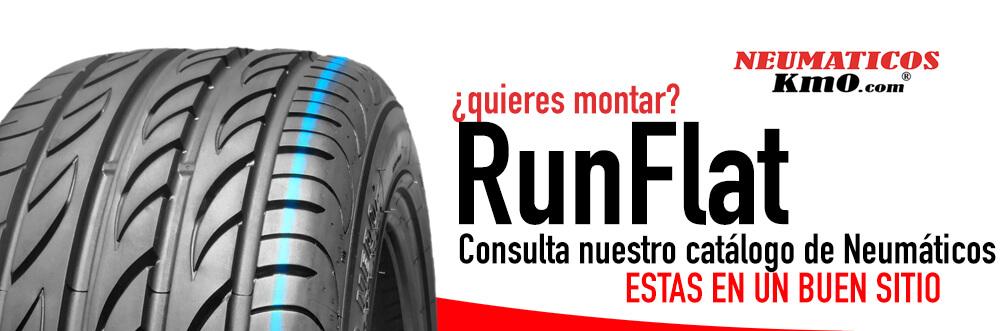 Las Ruedas Antipinchazos o Run Flat