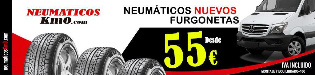 neumáticos nuevos furgoneta