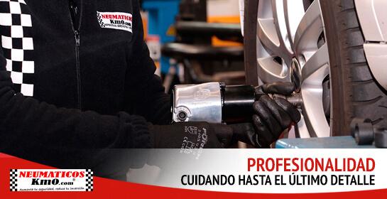 Neumáticos km0 profesionales