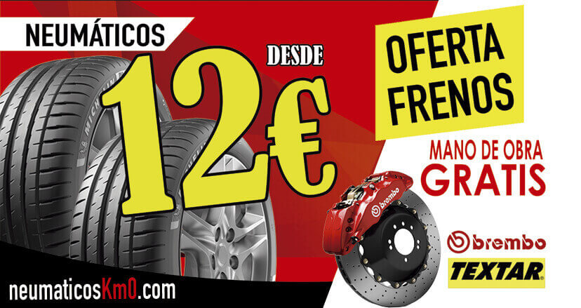 Neumáticos de Segundamano, Neumáticos km0 ofertas