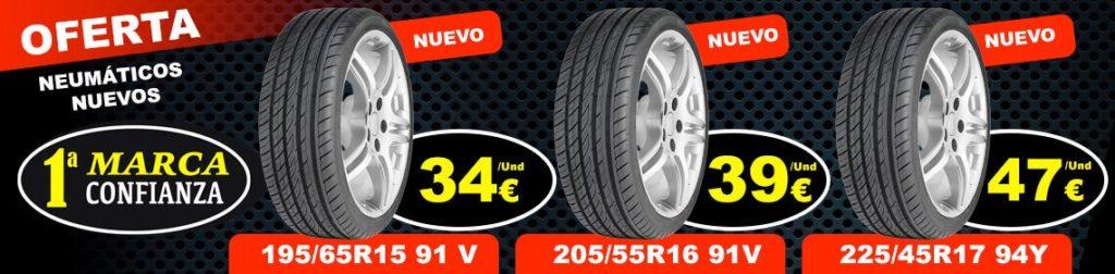Multa neumáticos, cambiamos cuando lo necesites