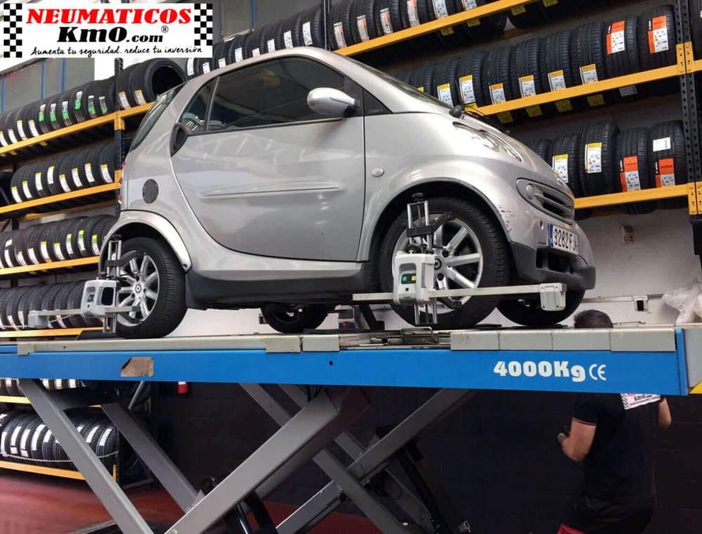 neumáticos para smart fotografía paralelo coche