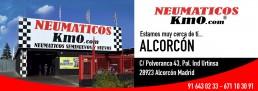 Publicidad taller Alcorcón imagen del exterior