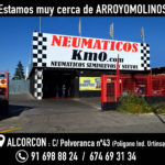 Neumáticos baratos Arroyomolinos