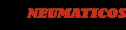 Logo de empresa alternativo Neumáticos Km0 ampliado en forma de banner y con fondo transparente