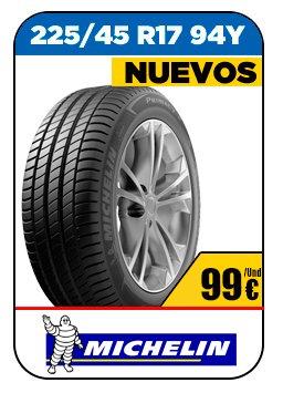 Neumáticos nuevos marca Michelin 106€/Und 225/45 R17 94Y