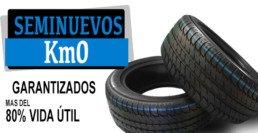 Neumáticos baratos seminuevos km0. Garantizados. más del 80% de vida útil