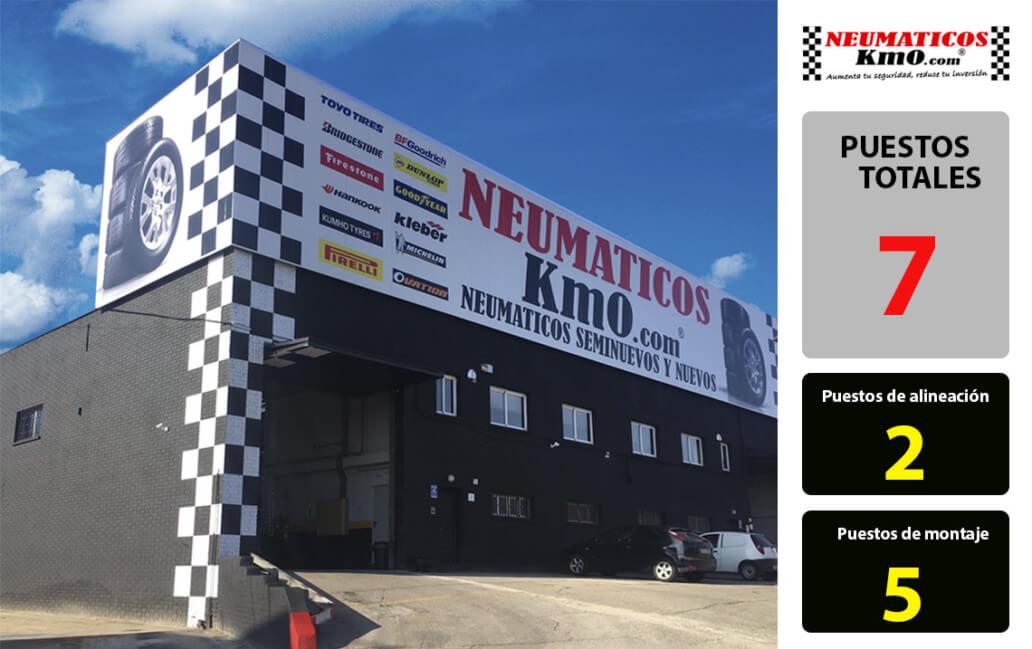 Taller de Neumáticos y mecánica en Alcobendas I Neumáticos Km0