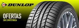 Fotografía Neumático Dunlop. Ofertas sin competencia.