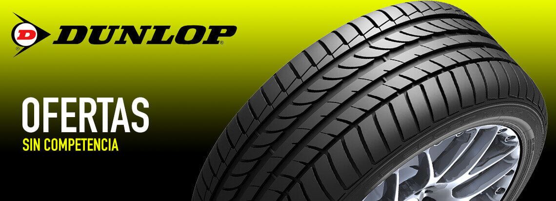 Ofertas sin competencia. Neumático Dunlop
