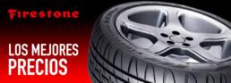 Firestone. Marca de Neumáticos. Lema los mejores precios. Fotografía 1 neumático Firestone ampliada