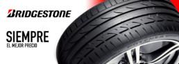 Siempre el mejor precio con neumáticos Bridgestone