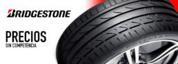 Precios sin competencia con Bridgestone