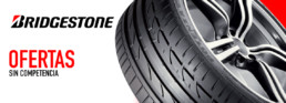 Con Bridgestone ofertas sin competencia