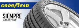 Siempre el mejor precio. Neumáticos km0 marca Goodyear