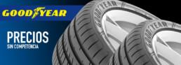 Los mejores neumáticos de primeras marcas en Neumáticos Km0. Goodyear y otras marcas