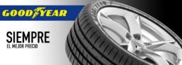 Neumáticos marca Goodyear. Siempre el mejor precio. Banda de rodadura neumático