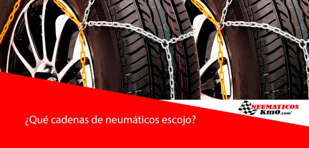 cadenas de neumáticos