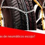 ¿Qué cadenas de neumáticos escojo?