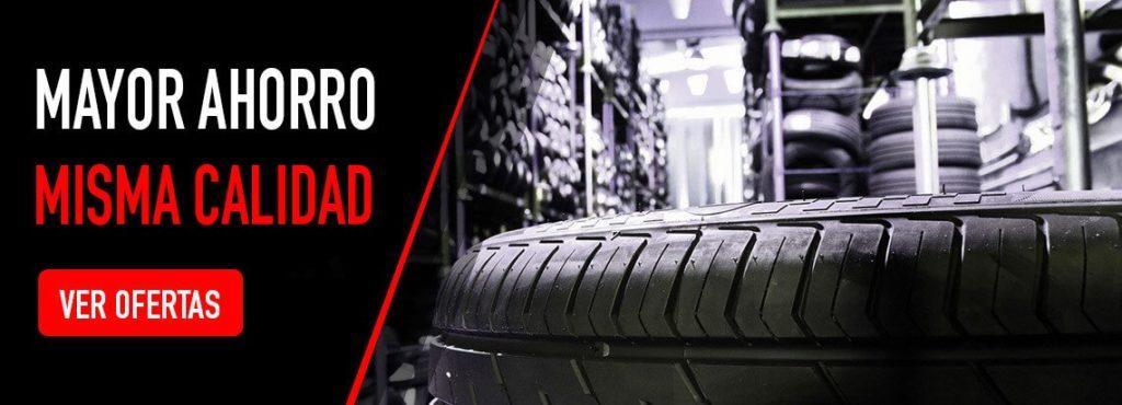 ahorro en neumáticos seminuevos