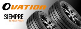Neumáticos Ovation precios económicos