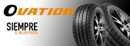 Ovation tu neumático marca de confianza