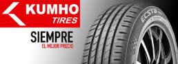 Neumático Kumho. Siempre el mejor precio