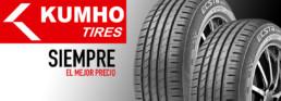 Neumático Kumho. Neumáticos de primeras marcas en nuestros talleres en Madrid