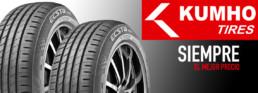 Neumático Kumho. 5 Talleres de Neumáticos Km0 en la Comunidad de Madrid.