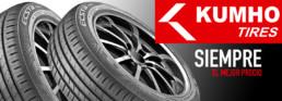 Neumático Kumho. Siempre el mejor precio. Neumáticos Km0 tu taller de confianza