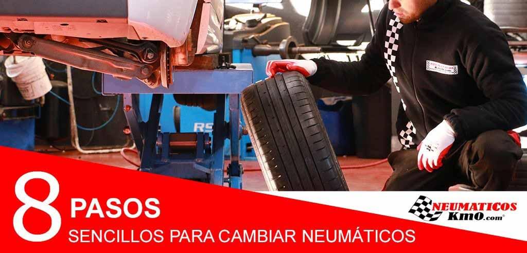 cómo cambiar un neumático