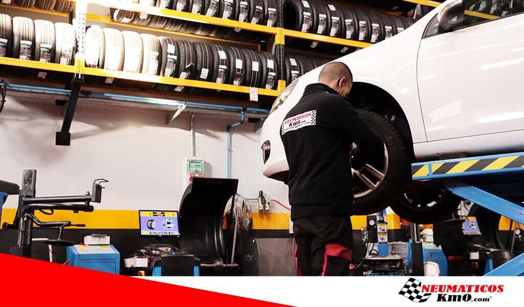 cuánto cuesta cambiar un neumático
