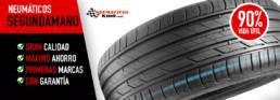 neumáticos segunda mano