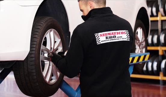 Montador de neumáticos