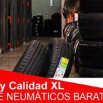 Marcas de neumáticos baratos: precio XS y calidad XL