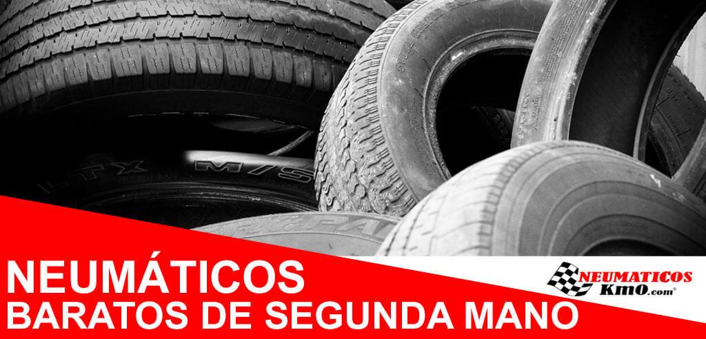 neumáticos baratos de segunda mano