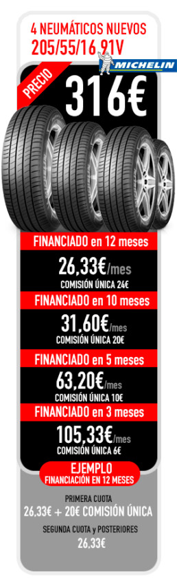 financiacion de neumaticos michelin