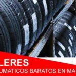 5 talleres de neumáticos baratos en Madrid que debes conocer
