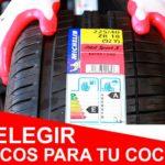 ¿Cómo elegir neumáticos para tu coche? Todo lo que necesitas saber