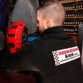 cambio y reparación de frenos
