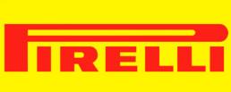 Logo marca neumáticos Pirelli