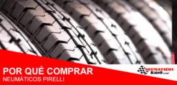 comprar neumáticos Pirelli