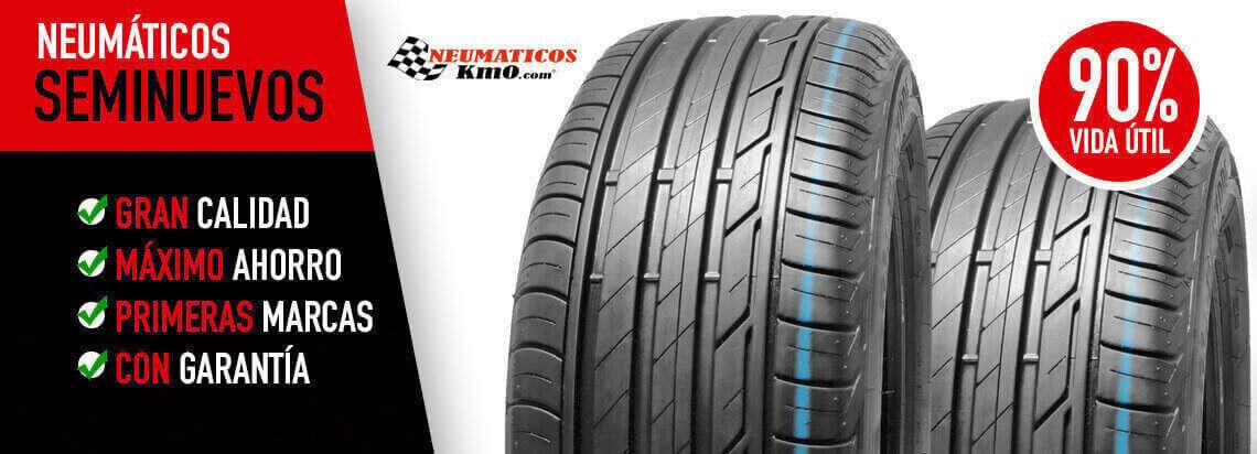 comprar neumáticos seminuevos online