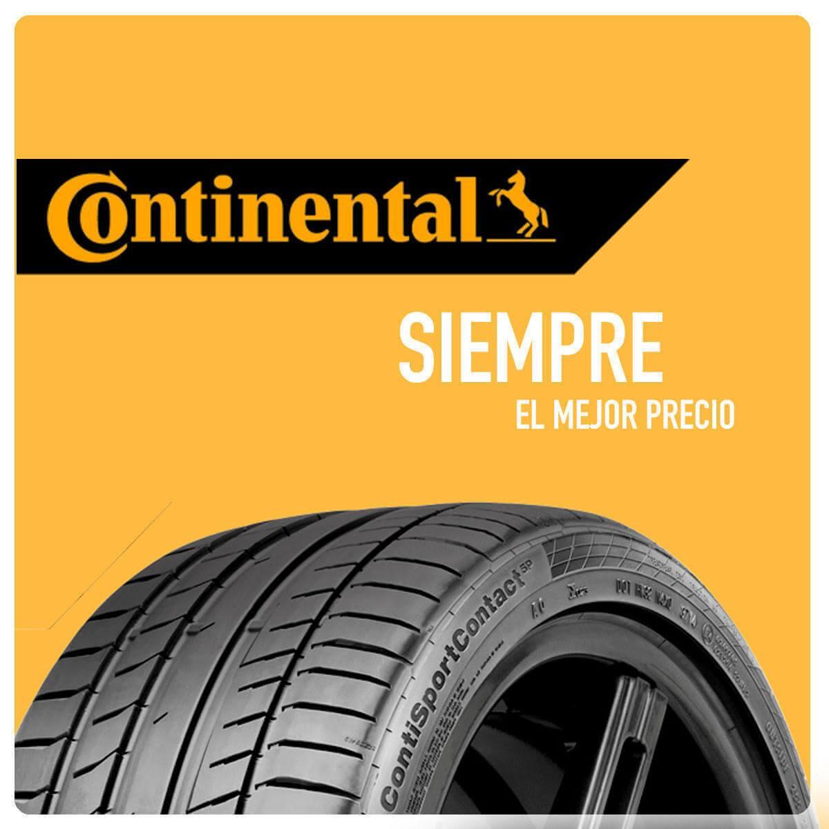 Comprar ruedas Continental en Madrid