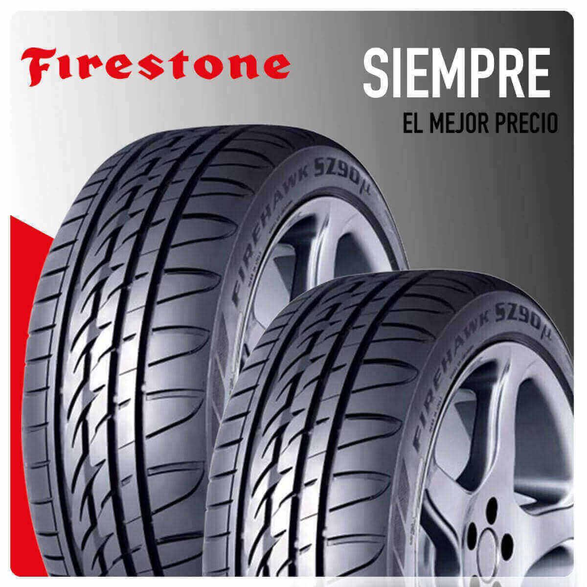 Comprar neumáticos Firestone en Madrid