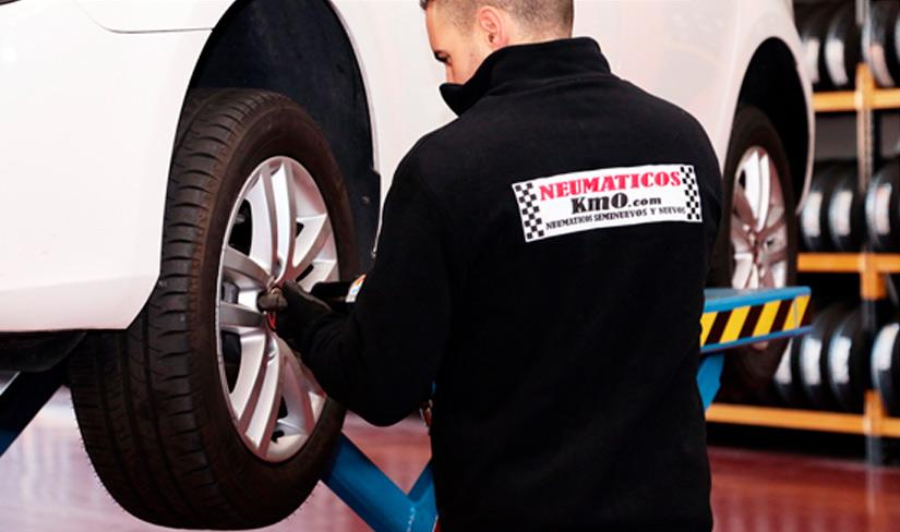 Montador de neumáticos Madrid