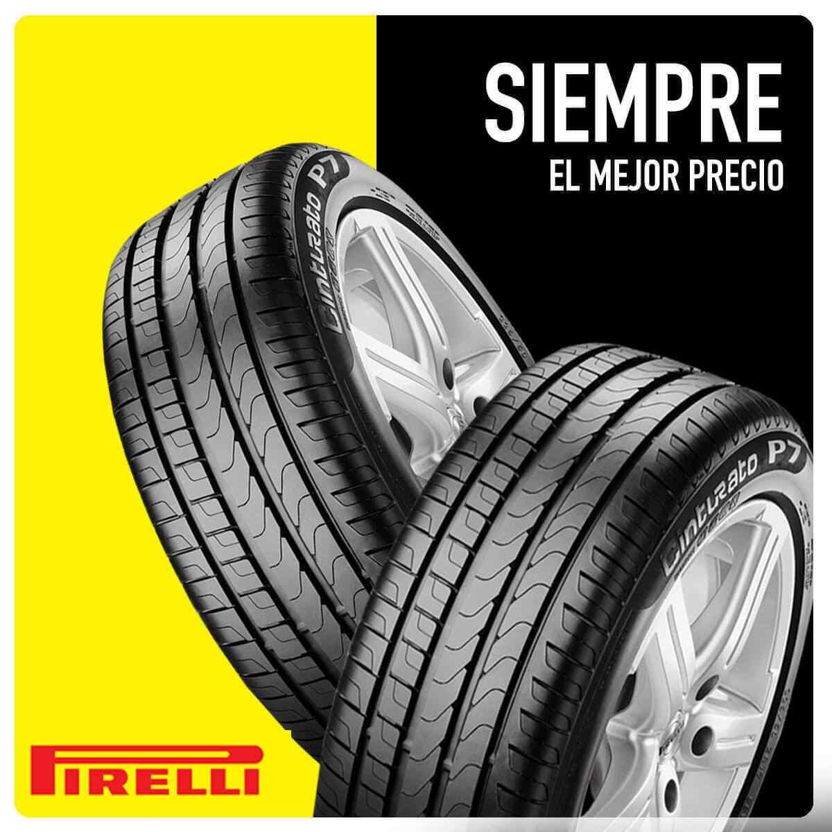 Comprar neumáticos Pirelli en Madrid