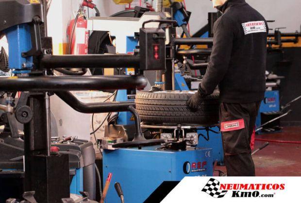 Maquinaria para neumáticos